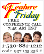 Feature Friday Conference Call