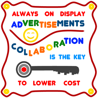 Always ON Display Advertisements<br> Are The KEY to Lower Cost