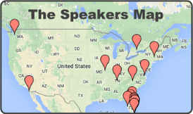 The Speakers Map